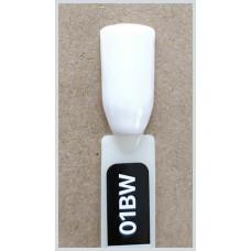 Гель-Лак Kodi  № 01 bw 12 мл. Ярко-белый.