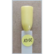 Гель-Лак Kodi  № 20 gy 8 мл. Лимонно-жёлтый.