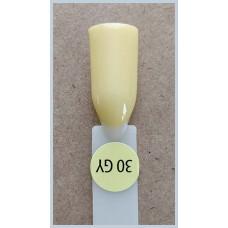Гель-Лак Kodi  № 30 gy 8 мл. Светло-желтый.