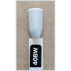 Гель-Лак Kodi  № 40 bw 12 мл. Светло-серый с лёгким оливковым подтоном.