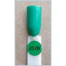 Гель-Лак Kodi  № 60 gy 8 мл. Лесная зелень.