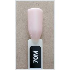 Гель-Лак Kodi  № 70 M 12 мл. Светлый бежево-розовый.