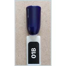 Гель-Лак Kodi  № 01 b 8 мл. Темно-синий.