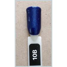 Гель-Лак Kodi  № 10 b 8 мл. Синий с шиммером.