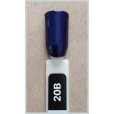 Гель-Лак Kodi  № 20 b 8 мл. Темно-синий с шиммером.