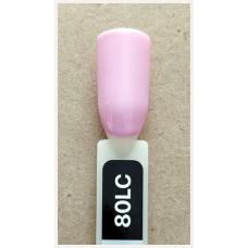 Гель-Лак Kodi  № 80 lc 8 мл. Светло-розовый.