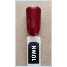 Гель-Лак Kodi  № 10 v 12 мл. Бордовый с шиммером.