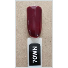 Гель-Лак Kodi  № 70 wn 12 мл. Красно-коричневый.
