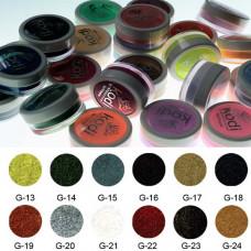 Коллекция цветных пудр № 13-24 Kodi Professional.