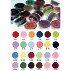 Коллекция цветных пудр № 1-24 Kodi Professional.
