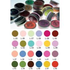 Коллекция цветных пудр № 25-48Kodi Professional.
