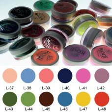 Коллекция цветных пудр № 37-48 Kodi Professional.