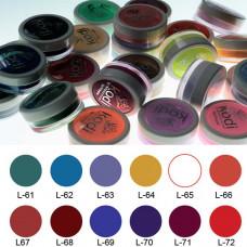 Коллекция цветных пудр № 61-72 Kodi Professional.